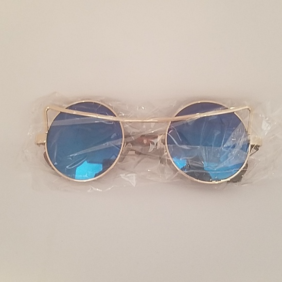 stars Other - Blue mirror glasses new